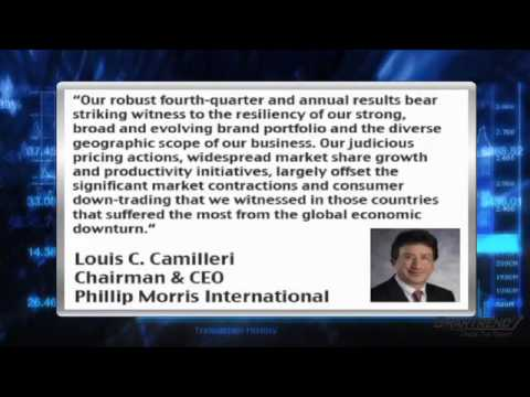 Earnings Report: Phillip Morris (NYSE:PM) Climbs on Strong Q4 Results, 2010 Guidance In Line
