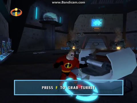 The Incredibles Video Game: Walkthrough Part 34 - Rocket Silo - Mission 17