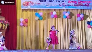 Múa và hát bài Ước mơ_hội thi bé thông minh vui khỏe trường MG Tuổi Hồng biểu diễn