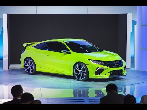 2016 Honda Civic Concept - 2015 New York Auto Show