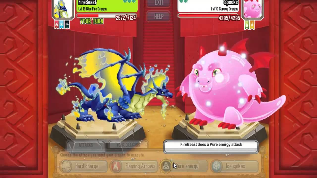 Blue Fire Dragon Dragon City-blue Fire Dragon