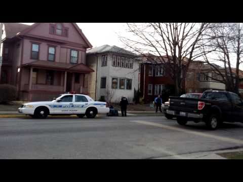 Oak Park High School Students Detained by Oak Park Police for Fighting 4/3/2013