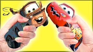 Tayo The Little Bus & Disney Cars 3 | Lightning McQueen's Adventure In The Zoo | Toys For Kids