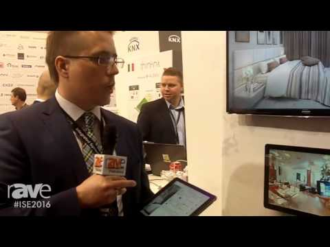 ISE 2016: iRidium Mobile Demonstrates iRidium 3.0 Smart Home Solution