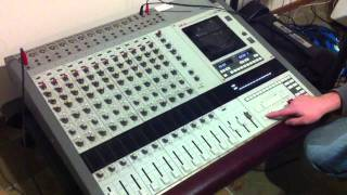 Akai professional 1214 12 track mixer/recorder