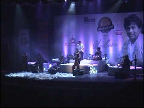 Kailash Kher Concert Sanu Ek Pal Chain Na Aave video