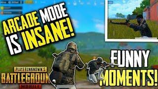 Arcade mode funny moment   PUBG Mobile funny moment 1