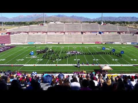 Volcano Vista High School Tournament of Bands 2014