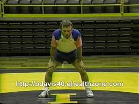 Barry Davis Wrestling Sprawl Drill Image 1