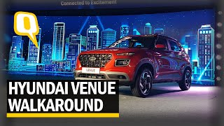 Hyundai Venue Compact SUV First-Look Walkaround | The Quint