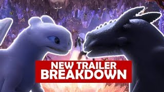 NEW HOW TO TRAIN YOUR DRAGON 3 TRAILER BREAKDOWN [ Goodbye Toothless? ]