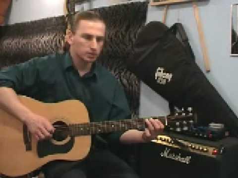 Początki Na Gitarze ( Lekcja Gry - Gitara )