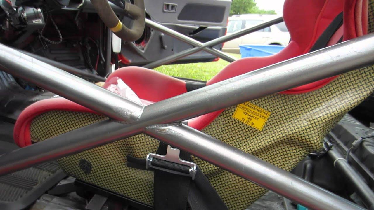 Tv Stander Rollbar ~ Honda civic rollcage youtube