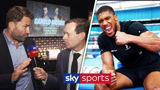 'ANTHONY JOSHUA IS READY TO ERUPT!' - Eddie Hearn on Canelo/Jacobs & Joshua/Ruiz