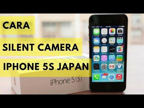 Cara Silent Camera iPhone 5S Japan SATU MENIT !