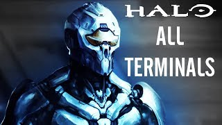 HALO SAGA All Terminals (H2A, Halo 4, Combat Evolved, ODST) 1080p HD