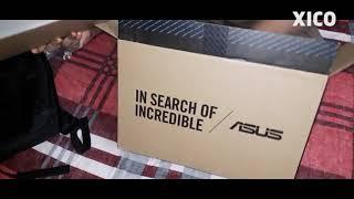 Unboxing  ASUS X407M   X tech