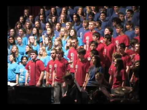 "Westborough High School Chorus sings ""Don"