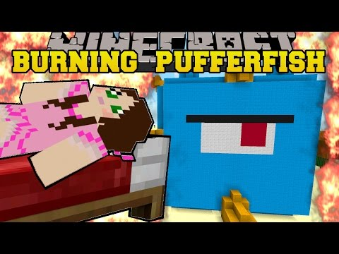 Minecraft: BURNING RAINBOW FUN HOUSE (2 AMAZING HOUSES!) Mini-Game