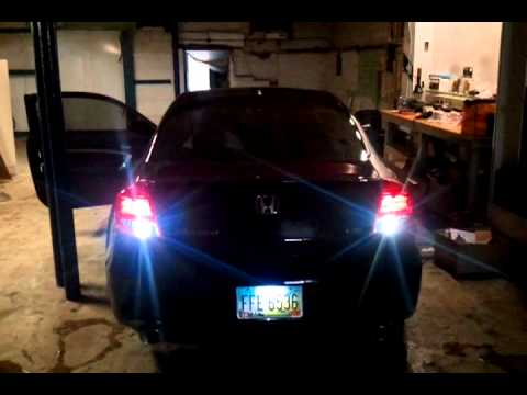 2011 Honda Accord Ex L 6 6 Coupe Tail Lights All Leds