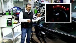 Detectar una fuga en el habitáculo con el SMT 300 de Bosch