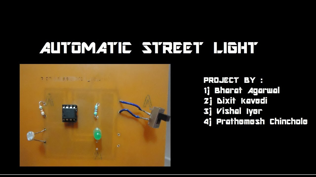 automatic street light control
