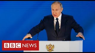 "Putin warns West of ""rapid and harsh"" response from Russia if it crosses ""red lines"" - BBC News"