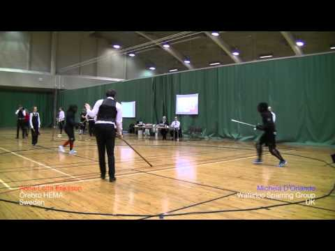 Helsinki Longsword Open 2016 - Women's longsword quarterfinals