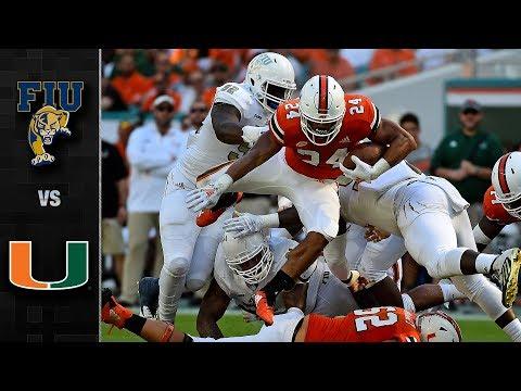 FIU vs. Miami Football Highlights (2018)