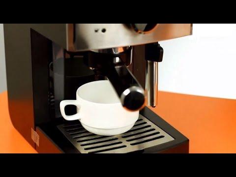 Как приготовить капучино в кофемашине - видео