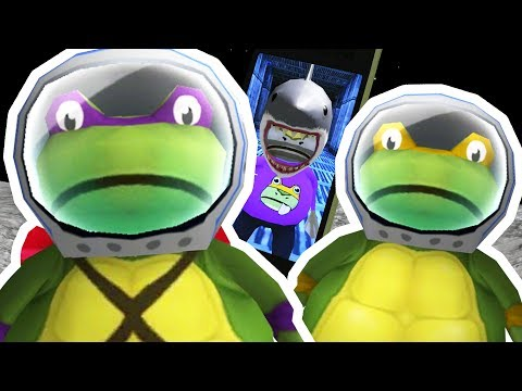 TEENAGE MUTANT NINJA TURTLE FROGS TRAPPED IN SPACE - Amazing Frog - Part 108   Pungence