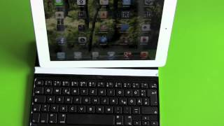 Logitech Ultrathin iPad Keyboard Cover Unboxing