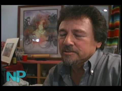 Andres Giron, a Chicano Painter Video