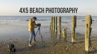 5x4 beach photography | large format seascape