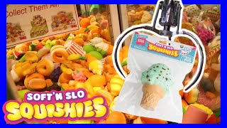 How Many SCENTED SQUISHIES Can I WIN from the SQUISHY Claw Machine?! (2018 Kawaii BRAND NEW TOY!)