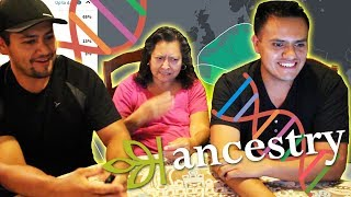 Mexicans Take DNA Test!! We're African?? ANCESTRY DNA RESULTS | History Kitchen