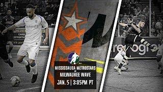 Mississauga MetroStars vs Milwaukee Wave