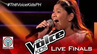 "The Voice Kids Philippines 2015 Live Finals Performance: ""Ikaw Ang Lahat Sa Akin"" by Elha"