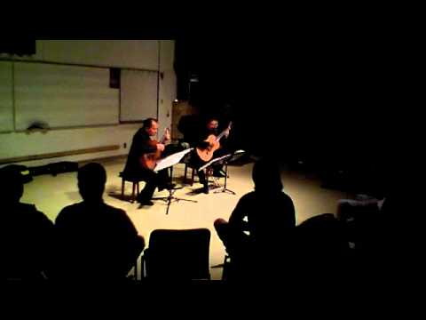 Odeum Guitar Duo - William Lawes - Suite - May 13, 2011