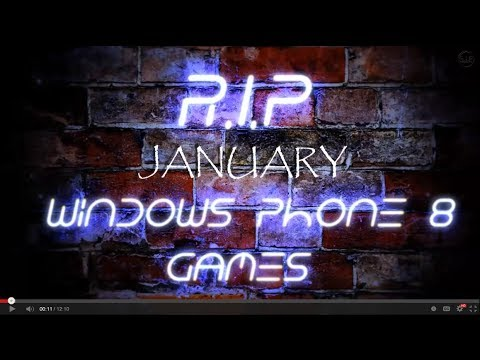 Windows Phone 8 Best and New Games (January 2014)