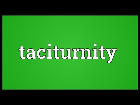 Header of taciturnity