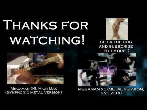 MEGAMAN X3: Megaman X vs Toxic Seahorse - Guitar Cover