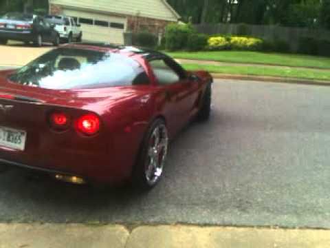 Corvette On 22 Inch Davins Youtube