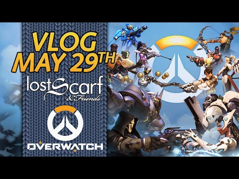 ScarfVloged May 29th - Schedule, X-Men, & E-Hate