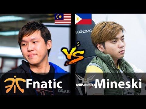 Fnatic vs Mineski Game 1 [WTF GAME!!] - Dota 2 6.88f