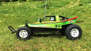 BUiLDiNG the Tamiya Grasshopper Ltd. Candy Green Edition #84331 (Part 3): Final Result & First Run