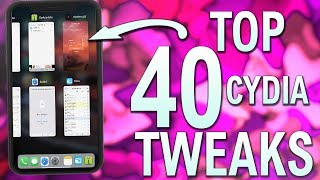Top 40 Free CYDIA TWEAKS! iOS 12 - 12.1.2 Jailbreak - RootlessJB iPhone, iPad, iPod