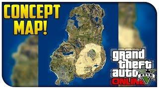 GTA 5 Online CONCEPT MAP! - Incredible Map Idea Featuring Las Venturas & San Fierro! [GTA V]
