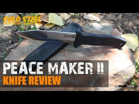 Cold Steel Peace Maker 2 Boot Knife Review   OsoGrandeKnives