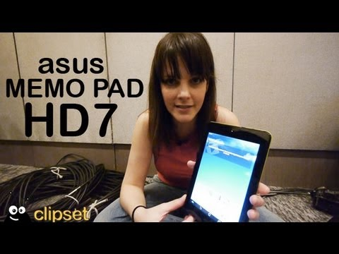 Asus Memo Pad HD7 preview Computex Videorama